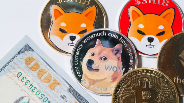 Dogecoin swings and the meme crypto Shiba Inu surges +35% in 24 hours