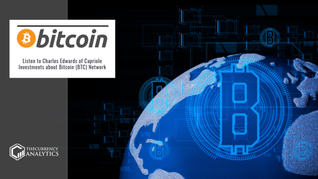 Listen to Charles Edwards of Capriole Investments about Bitcoin (BTC) Network